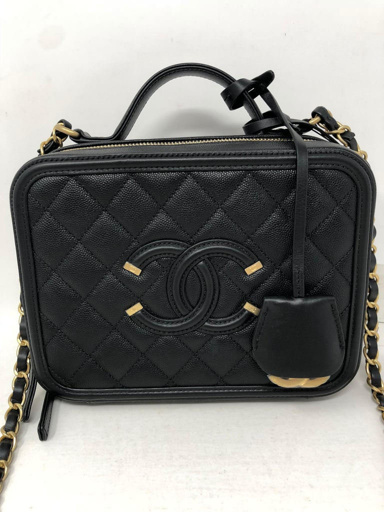 7f8a182de989 Chanel Vanity Case Bag. Brand new with original tag. The most sought after  Chanel