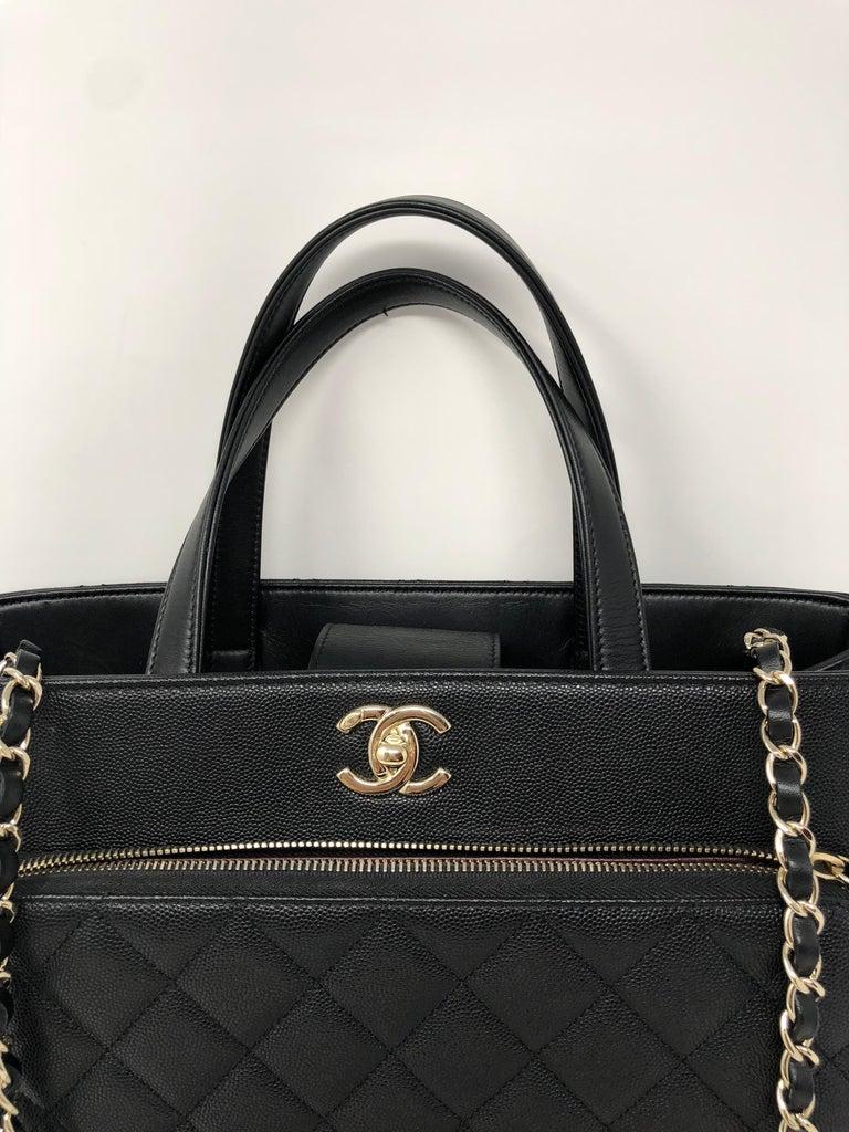 63c9e15969d5 Chanel Black Affinity Bag For Sale 2