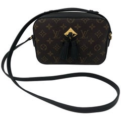 Louis Vuitton Saintonge Black and Monogram
