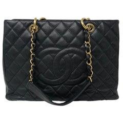 Chanel Black Grand Shopper Tote