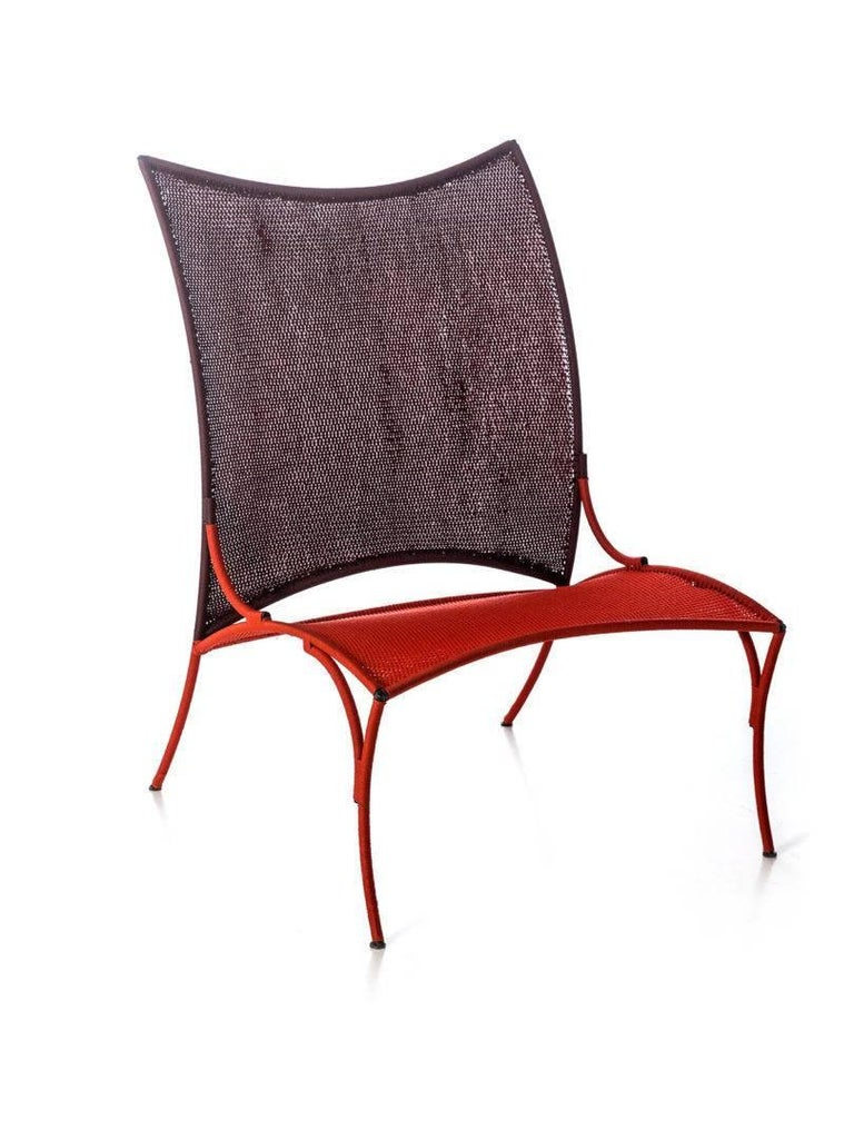 Contemporary Arco Chair B. by Martino Gamper for Moroso for Indoor/Outdoor in Multi-Color For Sale