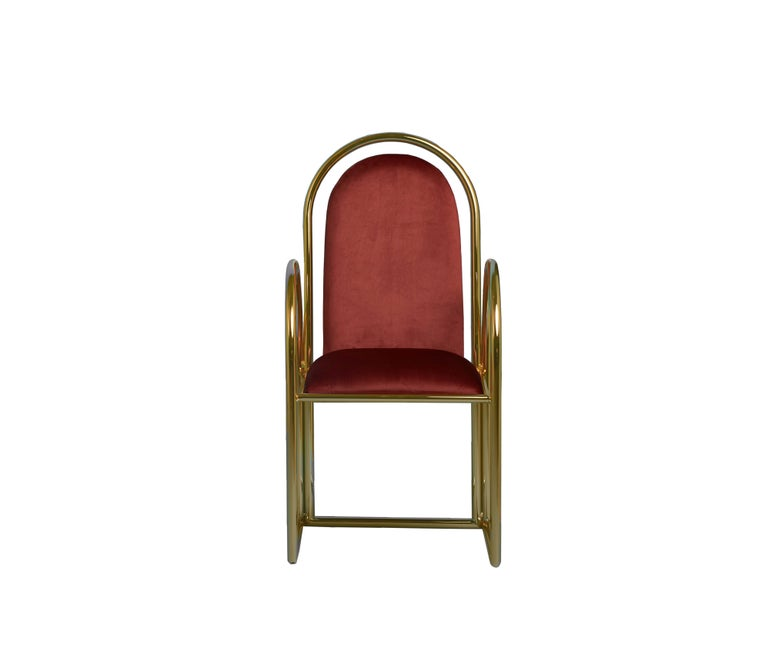 Contemporary Arco Chair by Houtique For Sale