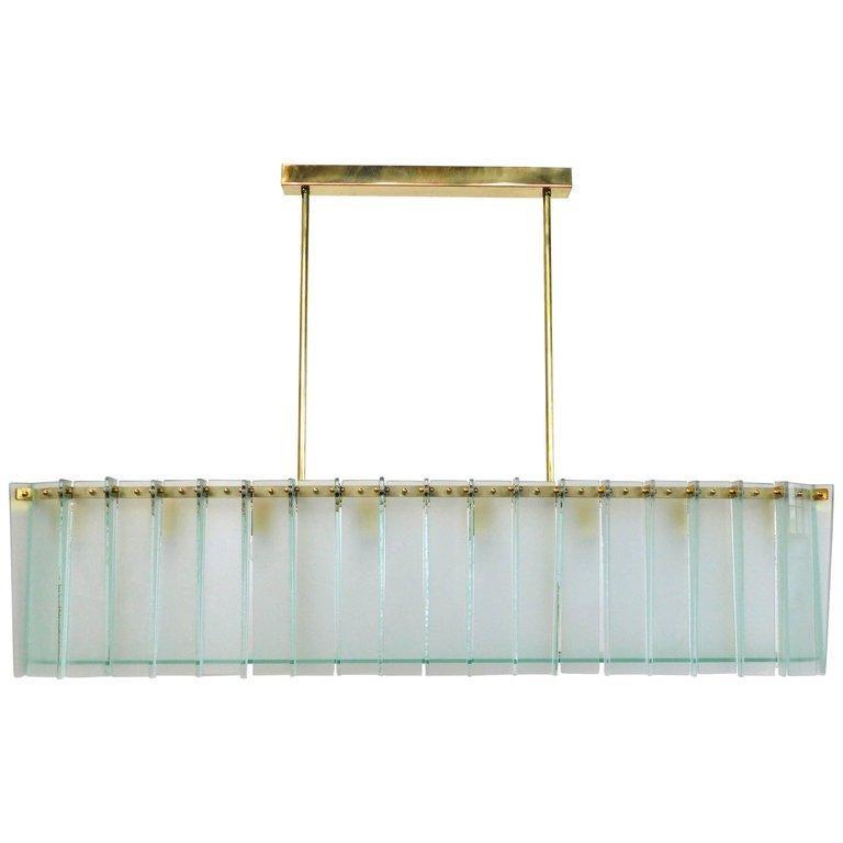 Mid-Century Modern Arco Chandelier by Fabio Ltd For Sale
