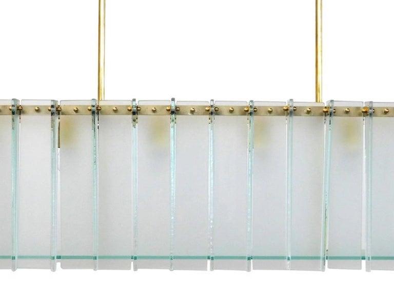 Italian Arco Chandelier by Fabio Ltd For Sale