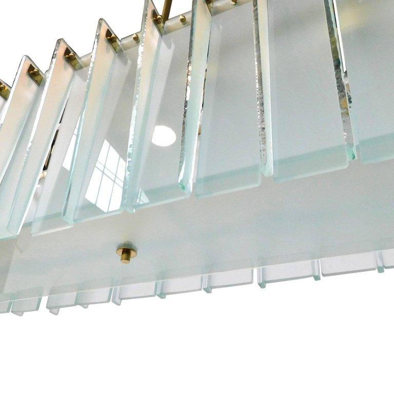Contemporary Arco Chandelier by Fabio Ltd For Sale