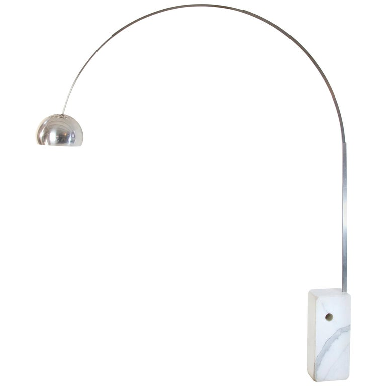 Arco Floor Lamp by Castiglioni Brothers, Italy, 1962 For Sale