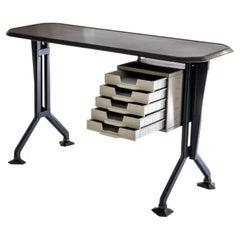 Arco Sidedesk 'Arredamenti Metallici Serie' by B.B.P.R. Studio for Olivetti