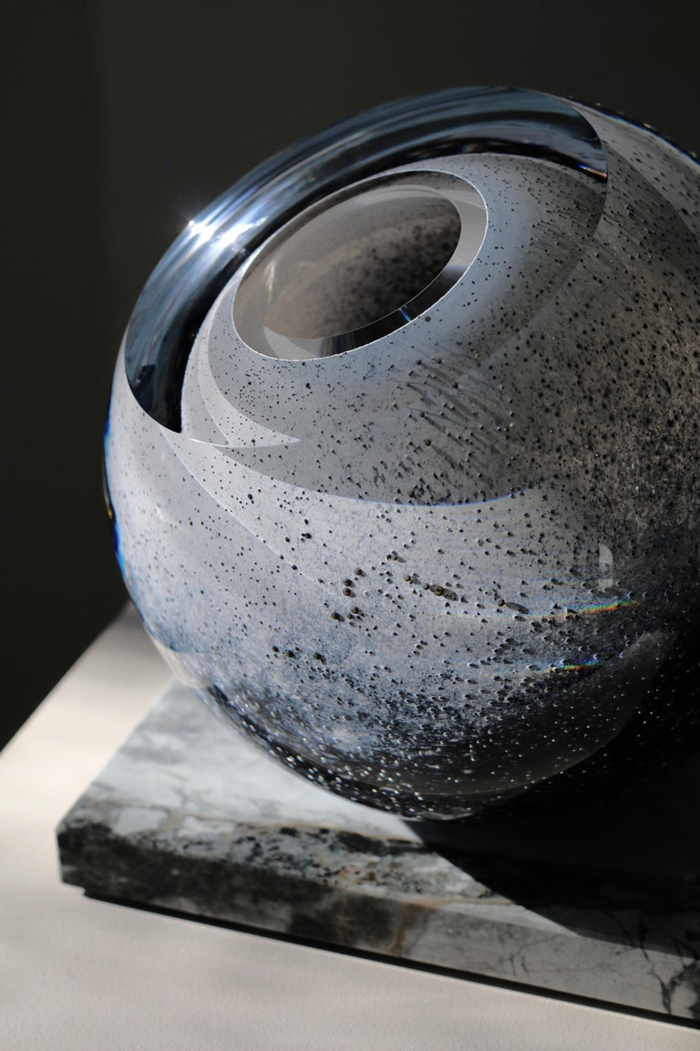 'Arctica' Large Sculptural Vase by Experimental, 2020 In New Condition For Sale In Riga, LV