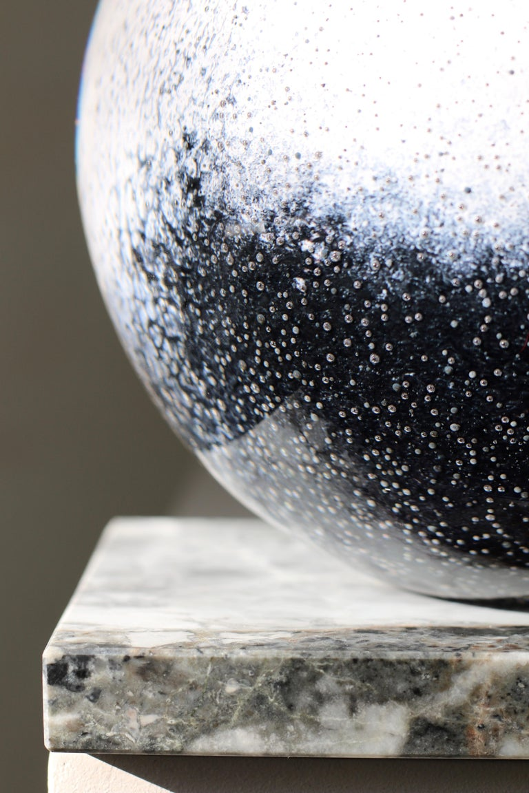 Contemporary 'Arctica' Large Sculptural Vase by Experimental, 2020 For Sale