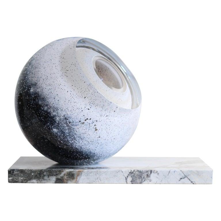 'Arctica' Large Sculptural Vase by Experimental, 2020 For Sale