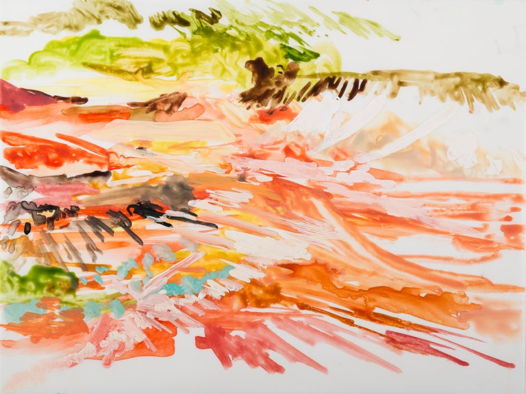 Arden Bendler Browning Abstract Painting - Shark Bay to Exmouth