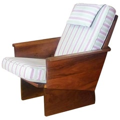 Arden Riddle High Back Lounge Chair Studio Crafted, 1988