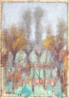 Bruma Autunnale, Ardengo Soffici, 1943 (Oil Landscape)