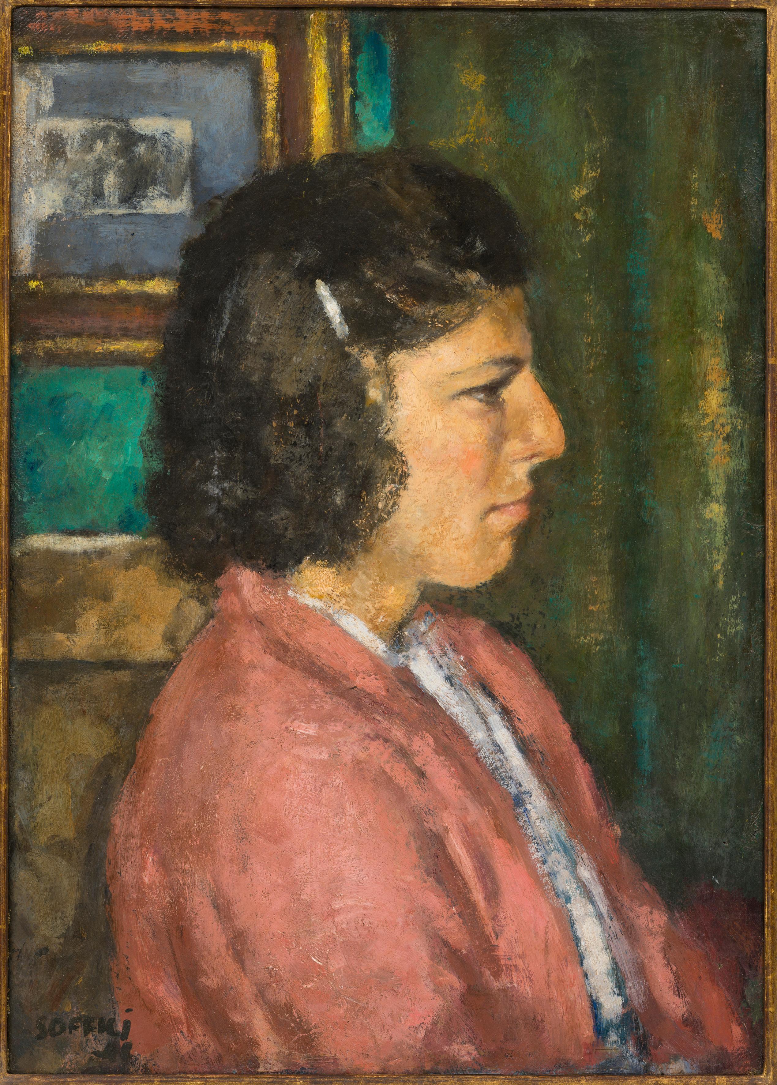 Lidia, Ardengo Soffici, 1941 (20th Century Portrait of a Woman)