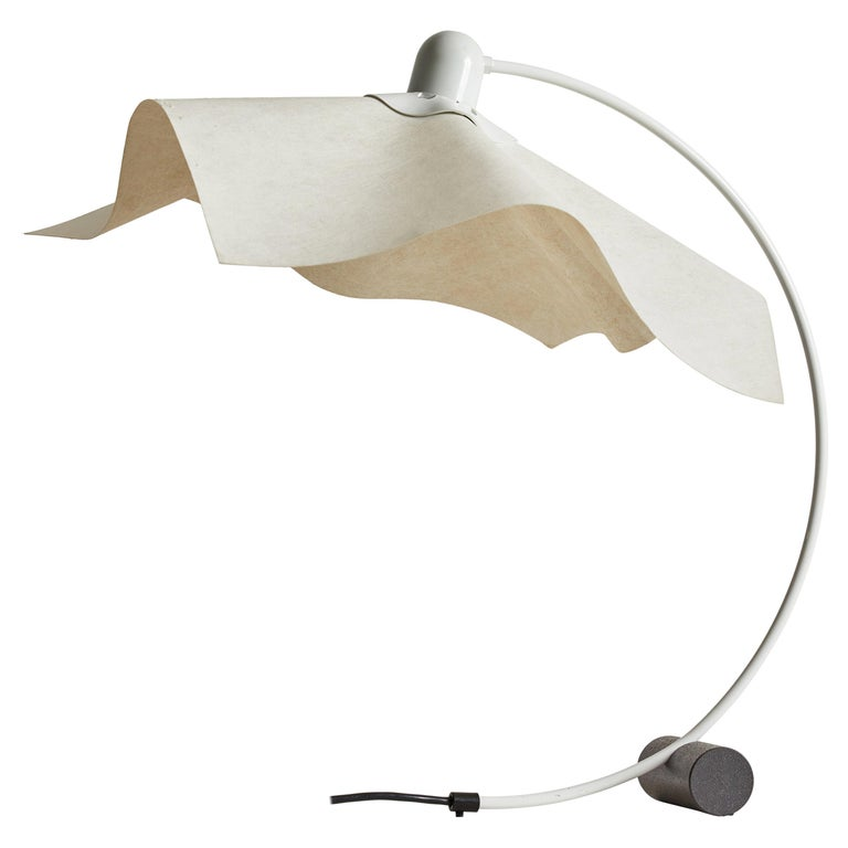 """Area Curvea"" Table Lamp by Mario Bellini & Giorgio Origlia for Artemide For Sale"
