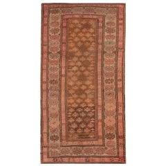Area Rust Rugs for Sale, Vintage Rugs Caucasian Carpet Traditional Shirvan