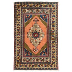 Area Turkish Rugs for Sale, Vintage Rugs Caucasian Carpet Traditional Taspinar