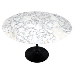Arebescato Marble Top Dining Table by Eero Saarinen for Knoll