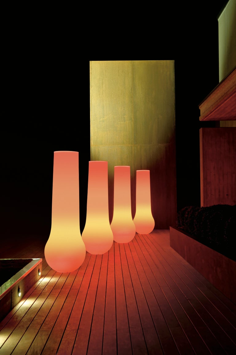 Molded Arena Lamp, Ldpe, LED RGB Kit, Indoor or Outdoor, Italy For Sale