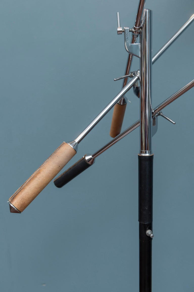 Late 20th Century Aretuce Triennale Floor Lamp For Sale