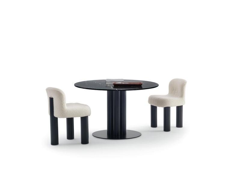 Modern Arflex Botolo Chair in Heidi Fabric by Cini Boeri For Sale