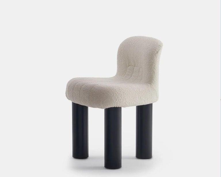 Burnished Arflex Botolo Chair in Heidi Fabric by Cini Boeri For Sale