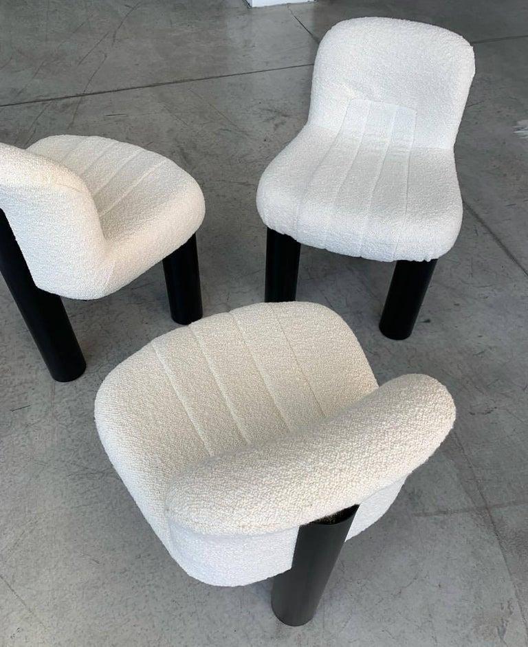 Contemporary Arflex Botolo Chair in Heidi Fabric by Cini Boeri For Sale