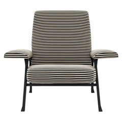 Arflex Hall Armchair in Fabric Riga by Roberto Menghi