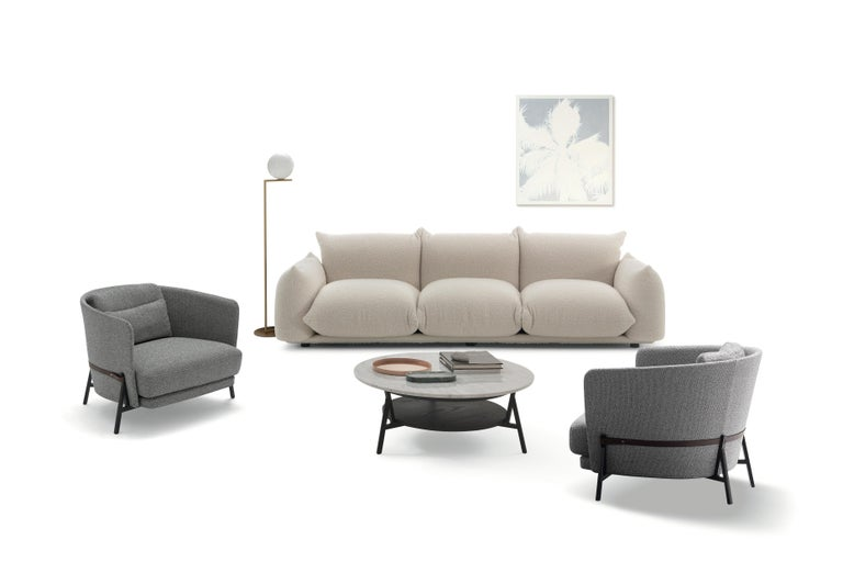 Modern Arflex Marenco Sofa in Fabric Heidi and Candy by Mario Marenco For Sale