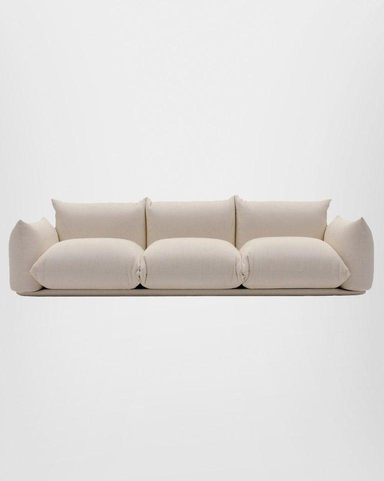 Italian Arflex Marenco Sofa in Fabric Heidi and Candy by Mario Marenco For Sale