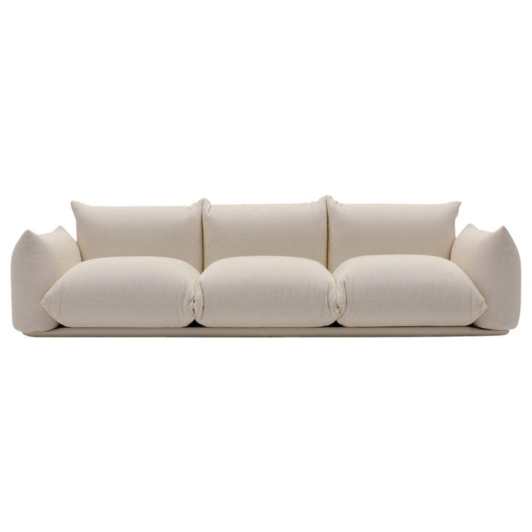 Arflex Marenco Sofa in Fabric Heidi and Candy by Mario Marenco For Sale