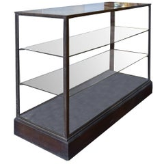Argentine Iron and Glass Display Case by Jose Thenee