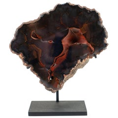 Argentinian Red Fox Agate Mounted