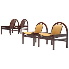 Argo' Set of Four Lounge Chairs by Baumann