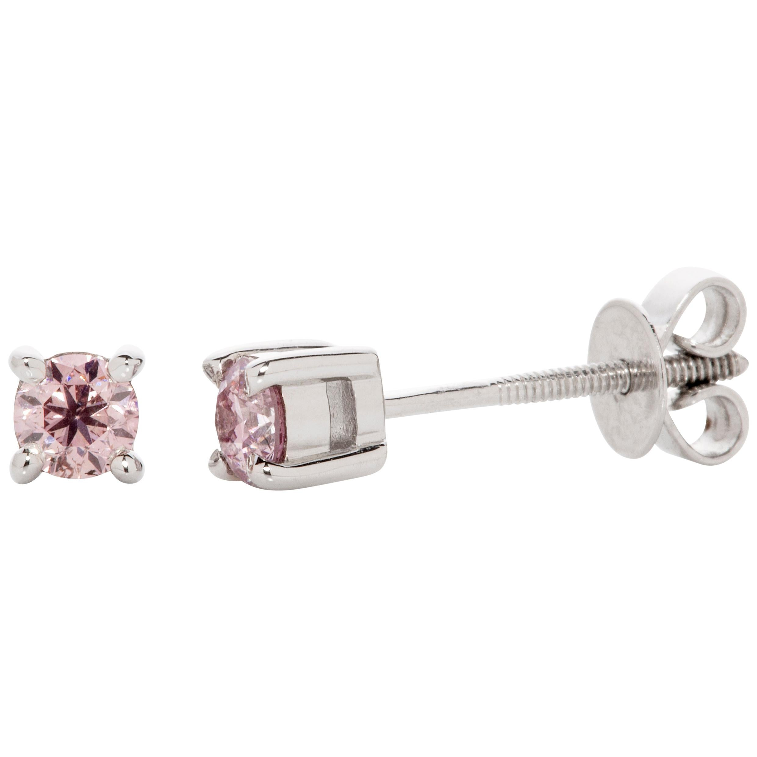 cfbee633e Round Cut Stud Earrings - 1,142 For Sale at 1stdibs