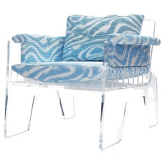 Aria Armchair from Acrylic Series by Objective Collection OBJ+