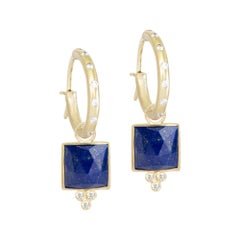 Ariana Lapis Earrings