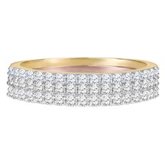 Arianna Jewels Minimalist Diamond Stacking Ring
