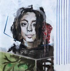 portrait studio, Painting, Oil on Canvas
