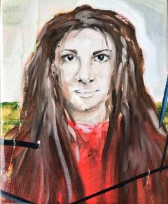 sara, Painting, Oil on Canvas