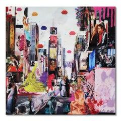 'The Kisses 2' Mixed Media Pop Art by Arianna Tascione