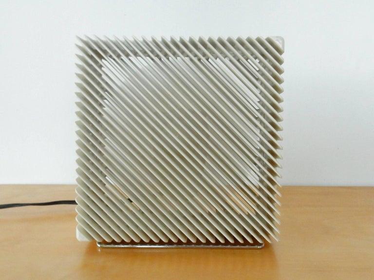 Modern 'Ariante' Table Fan by Marco Zanuso for Vortice Elettrosociali, Italy, 1970s For Sale