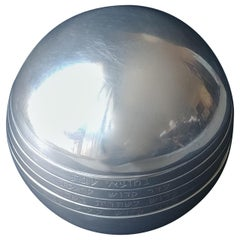 """Arie Ofir, Sterling Silver,"""" Blessing Ball"""" Sphere, Hand Engraved, Marked"""
