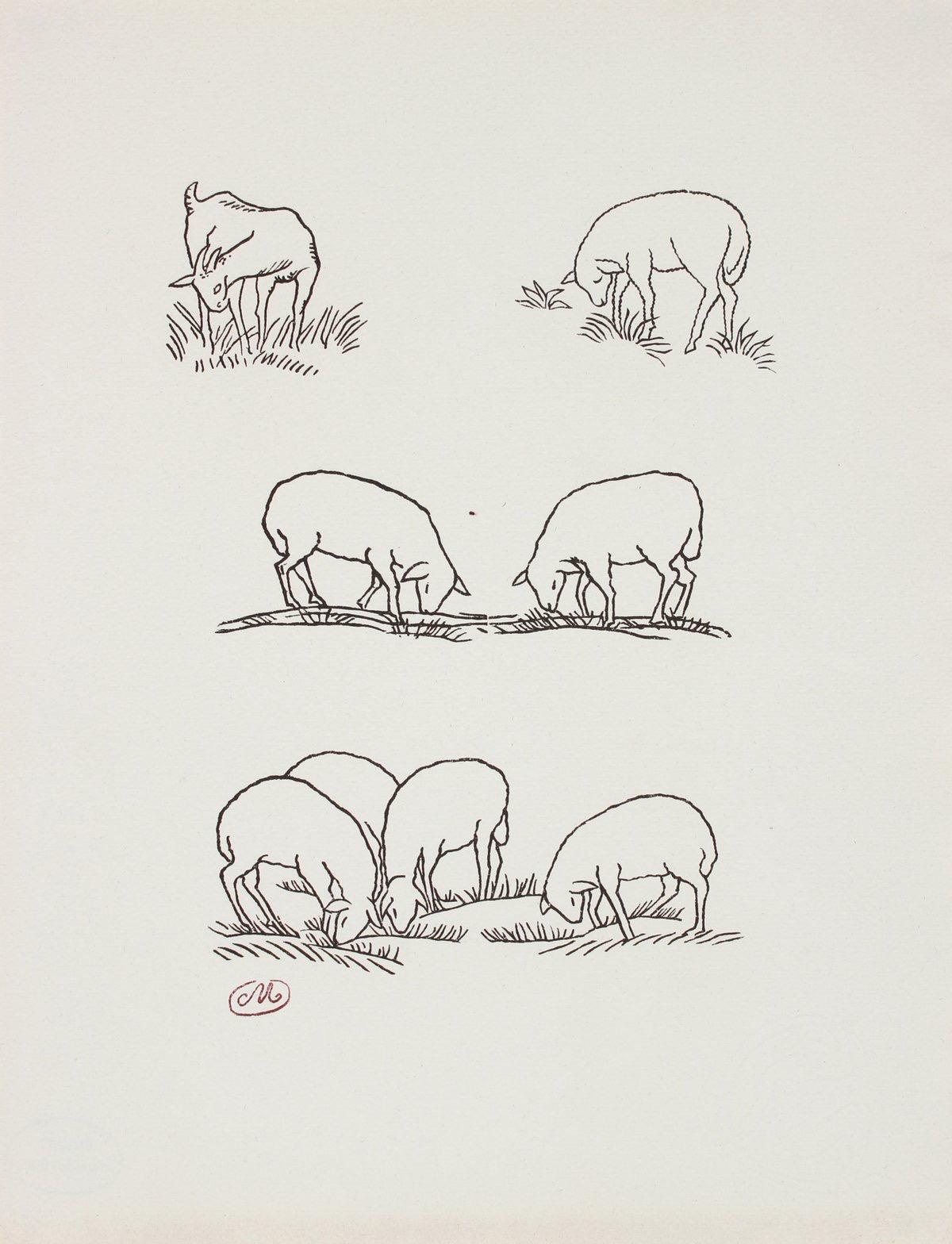 Les Géorgiques de Virgile (The Georgics of Virgil) Series 1937-44 Wood Engraving