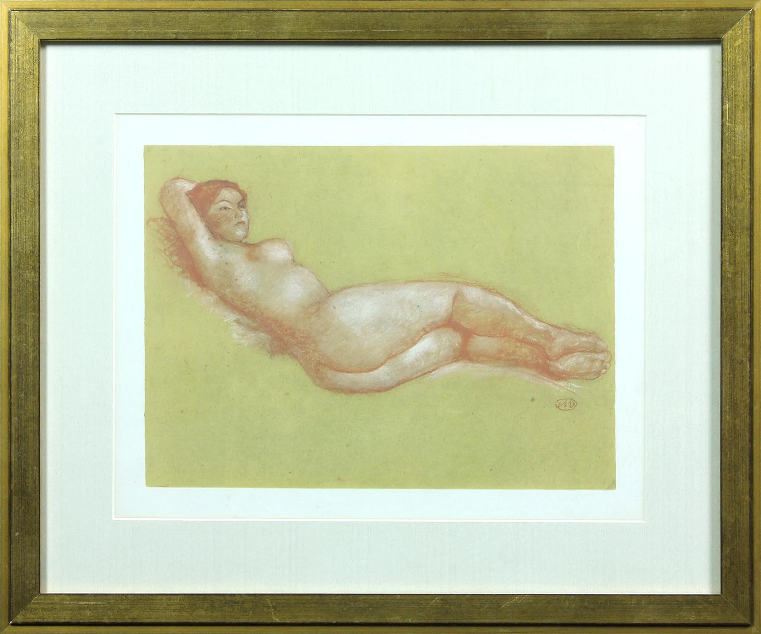 Untitled Aristide Maillol lithograph.
