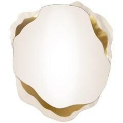 Arizona Small Mirror, Brass and Marble, InsidherLand by Joana Santos Barbosa