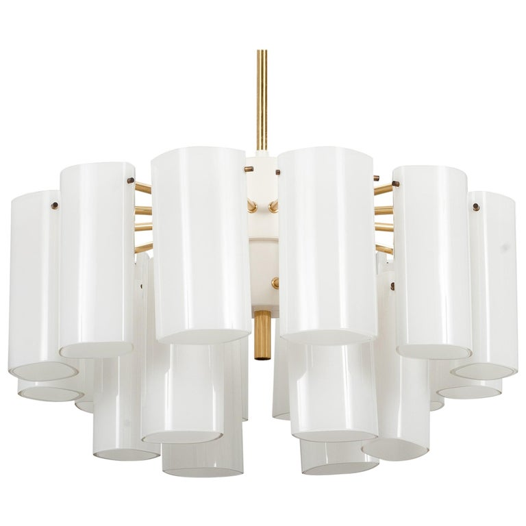 """""""Ark"""" Chandeliers by Gert Nyström, for Fagerhults, 1960s For Sale"""