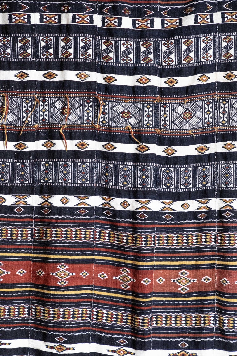 Arkilla Kerka Fulani Wedding Blanket In Fair Condition For Sale In Los Angeles, CA