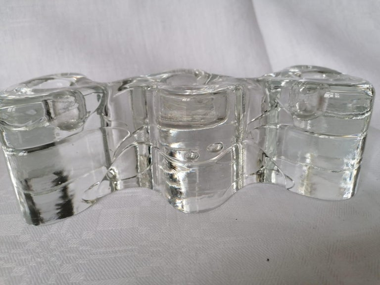 Arkipelago Candlesticks by Timo Sarpaneva for Iittala In Good Condition For Sale In Vienna, AT