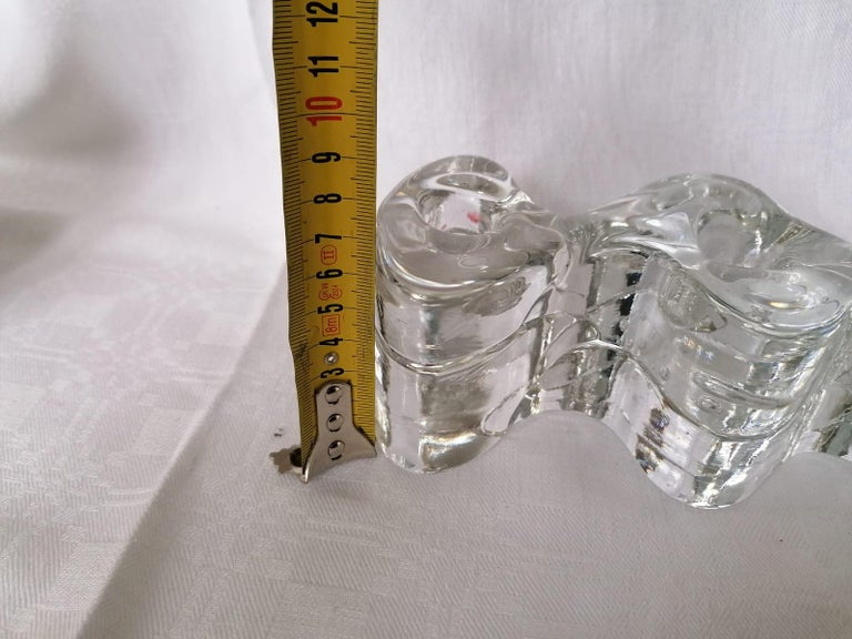 Late 20th Century Arkipelago Candlesticks by Timo Sarpaneva for Iittala For Sale